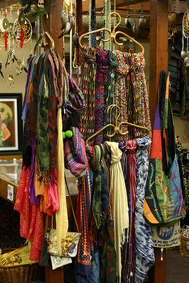 Scarves at Harvest