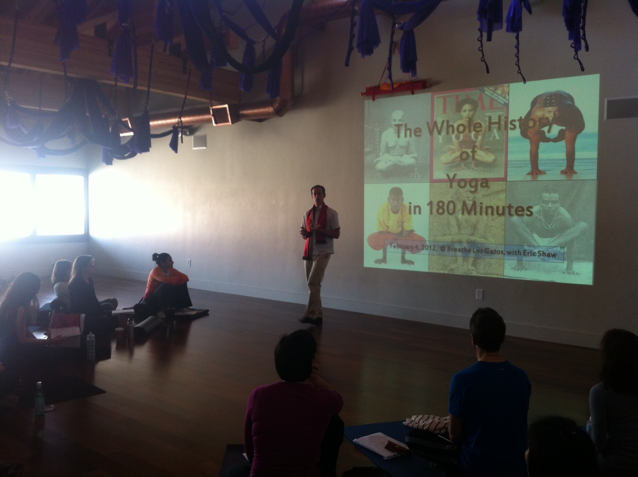 A ONE-MONTH, 200-HOUR TEACHER TRAINING WITH LES LEVENTHAL