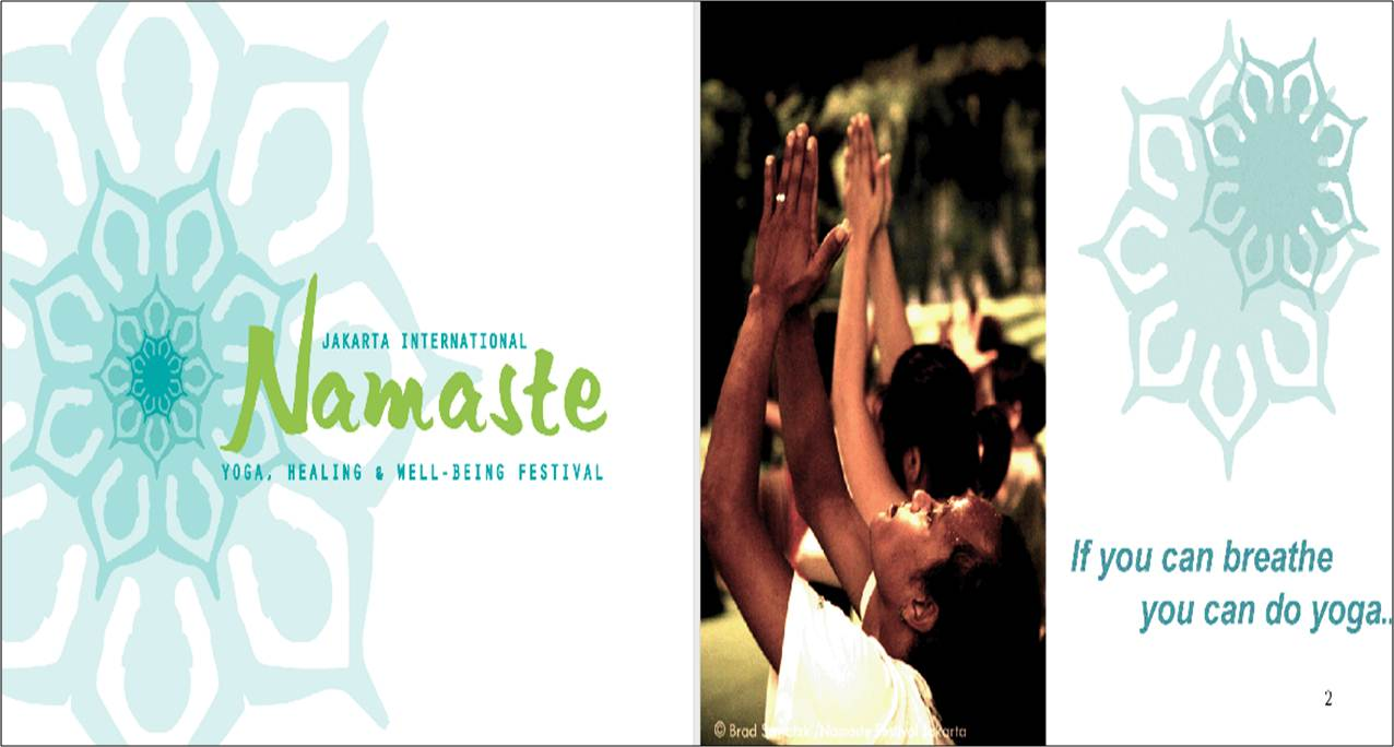 Namaste Yoga, Healing and Well-Being Festival, Jakarta, Indonesia