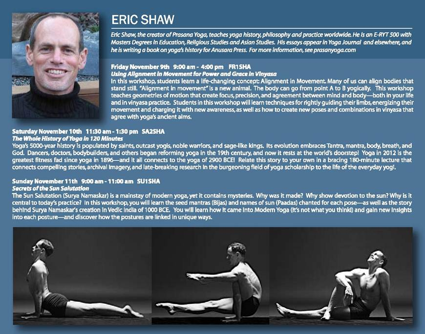 The Vancouver Yoga Conference, Vancouver, British Columbia, Canada