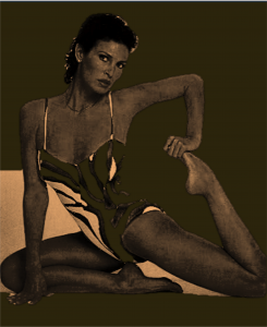 Racquel Sepia Cropped