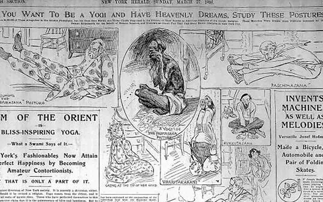 AMERICA'S FIRST YOGA: THE FAD OF 1898, AUGUST 2019, THRIVE GLOBAL