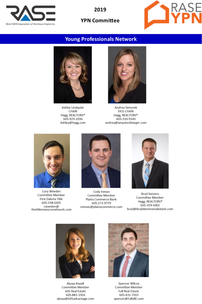 2019 RASE YPN Committee