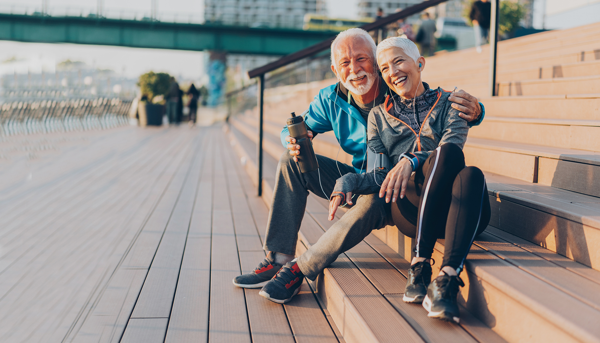 mature couple being active thanks to dr. frank soldevilla
