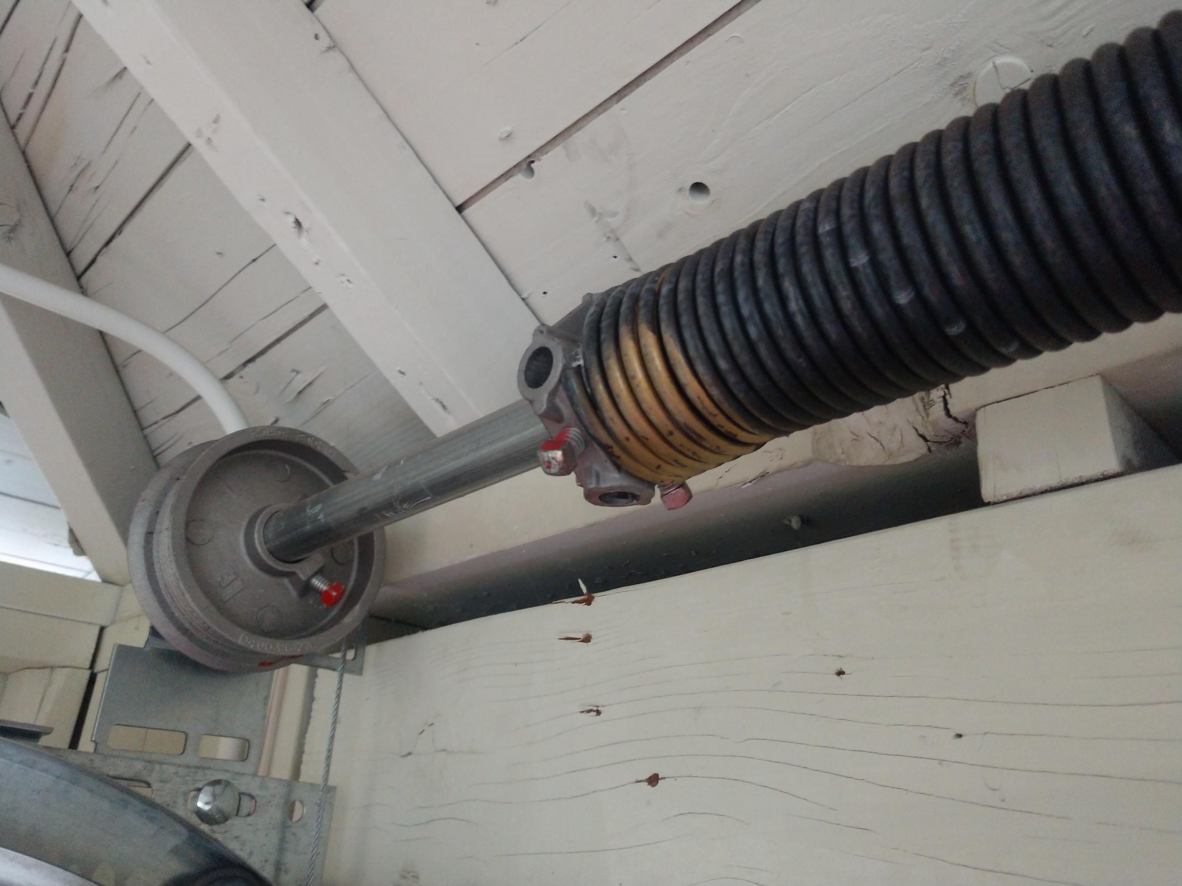 Standard torsion spring system