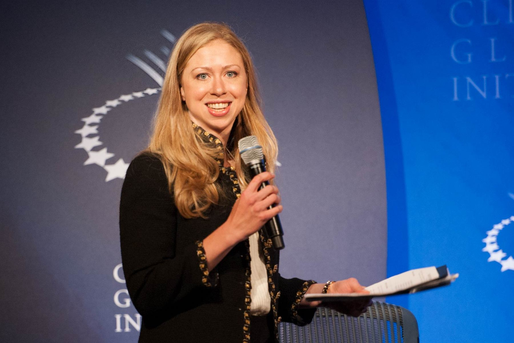 Designing Technologies for Economic Empowerment , Chelsea Clinton, Toshi Nakamura, Geena Davis, Founder, Ángel Cabrera, Neil Bellefeuille, Clinton Global Initiative, CGI 2011, New York City, 09-22-2011