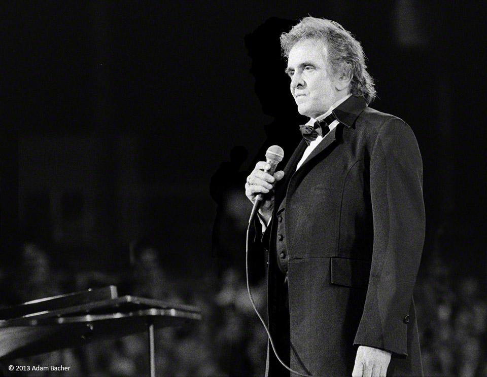 photograph of Johnny Cash by Portland Oregon editorial photographer