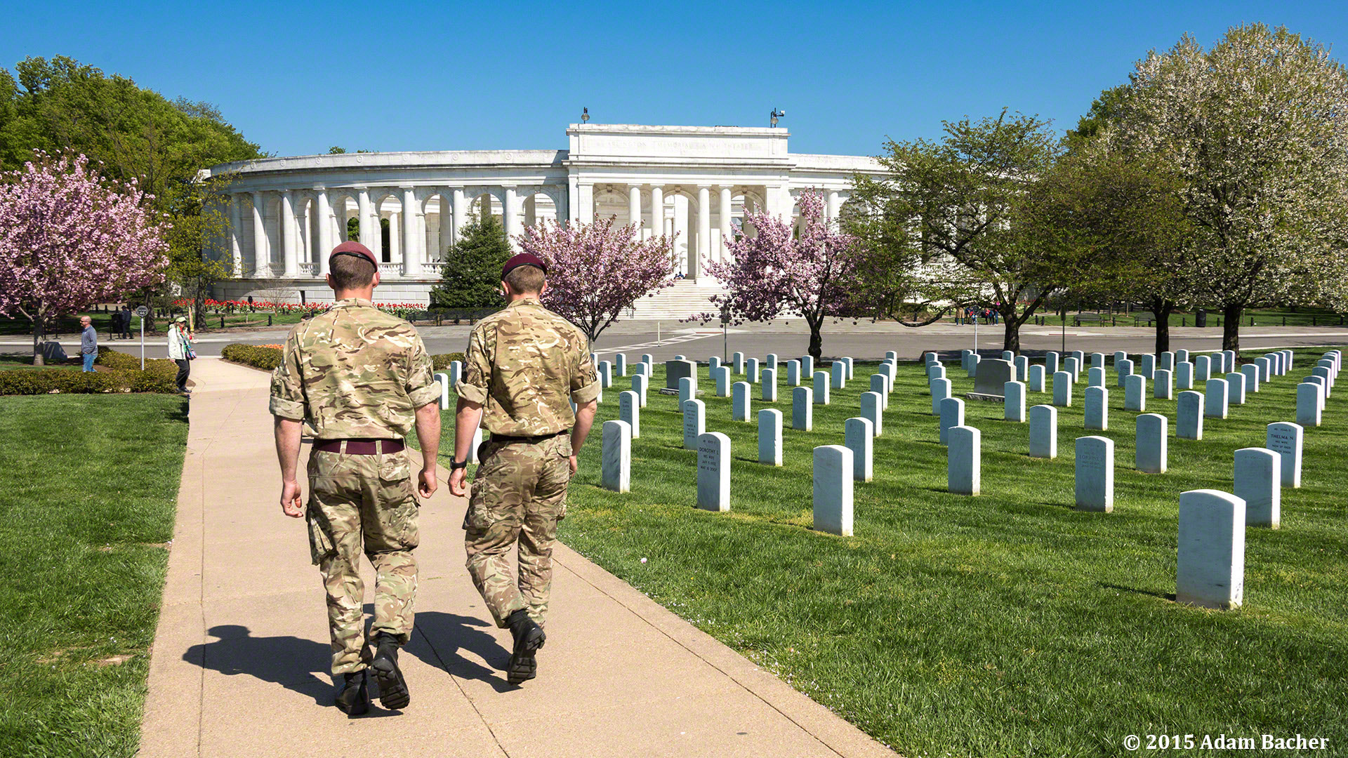 Portland Oregon photographer on assignment at Arlington National Cemetery