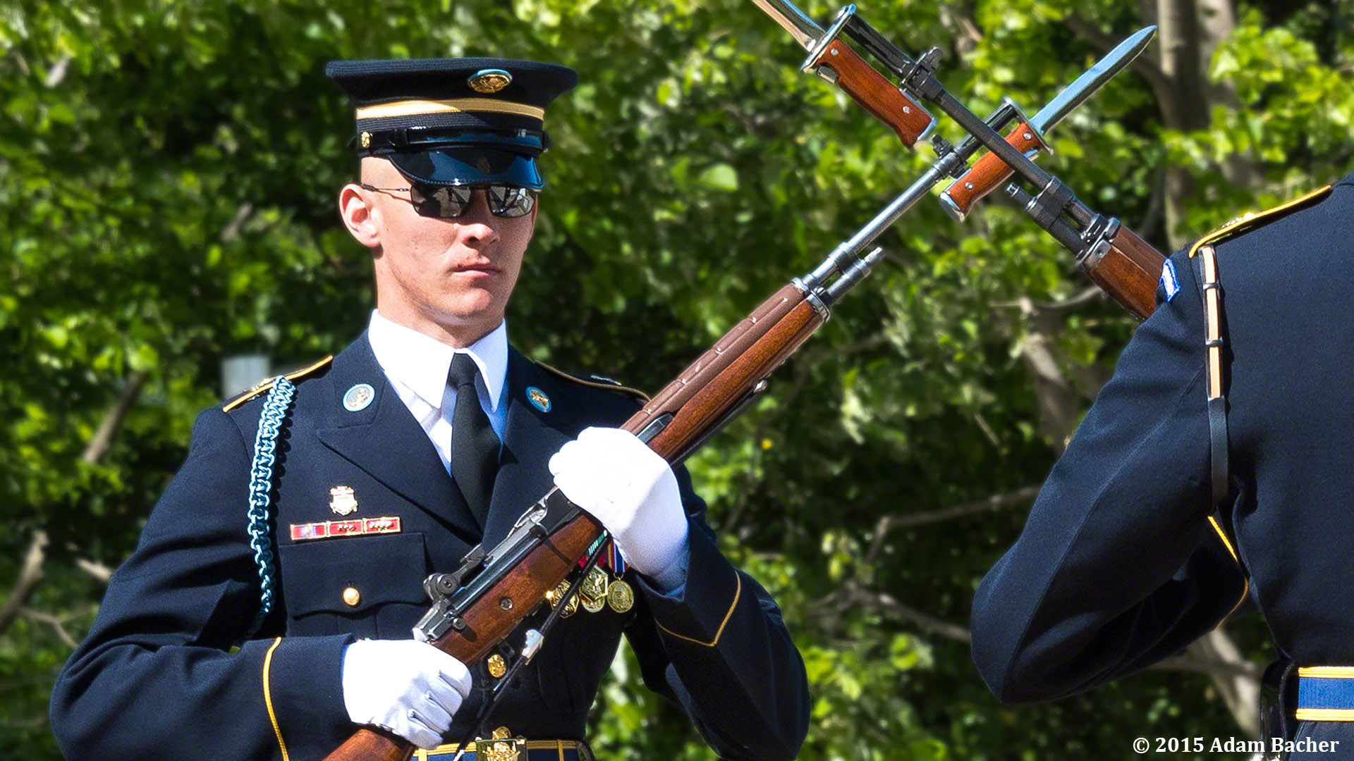 Portland Oregon editorial photographer at Tomb of Unknowns in Arlington National Cemetery