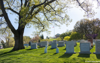 Arlington National Cemetery photographed by Portland Oregon editorial photographer