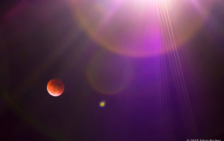 Blood moon lunar eclipse, taken by Portland Oregon editorial photographer Adam Bacher