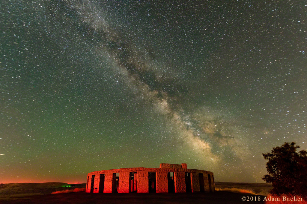 Milky Way and Stonehenge Memorial