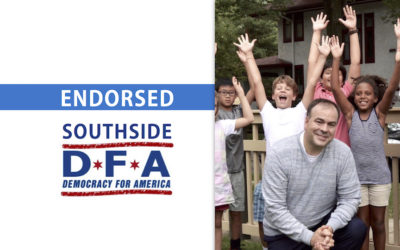 South Side Democracy for America endorses Fritz Kaegi for Assessor