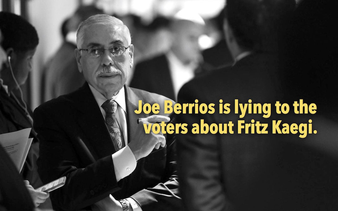 Berrios TV ad slanderous, full of false statements