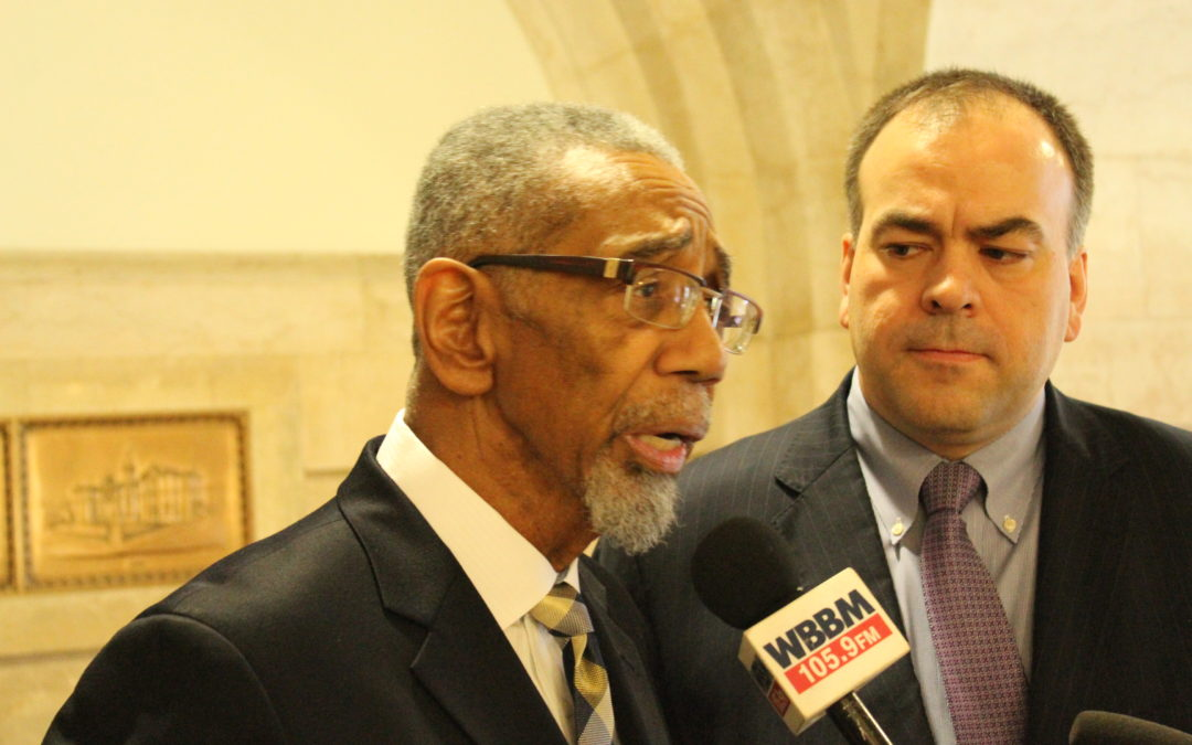 Congressman Bobby Rush Backs  Fritz Kaegi for Assessor