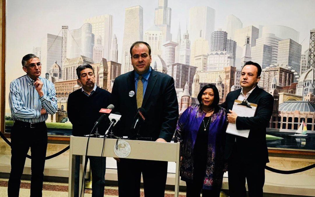 Aldermen Foulkes, Cardenas, Solis and Muñoz slam incumbent Joe Berrios's dismal tenure;  Endorse Fritz Kaegi for Cook County Assessor