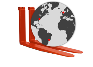 MSI-Forks manufacturing plants around the world being carried by quality pin forks.