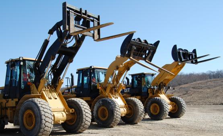 Front loaders: Construction, mining and agriculture machines