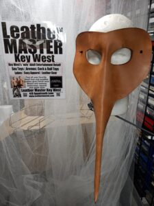 Leather Dengue Mask