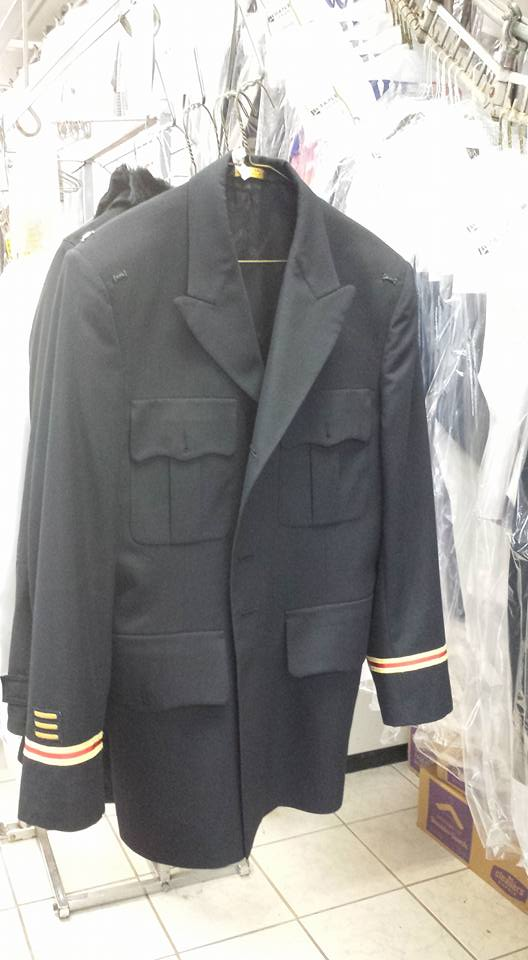 Military Jacket Dry Cleaning