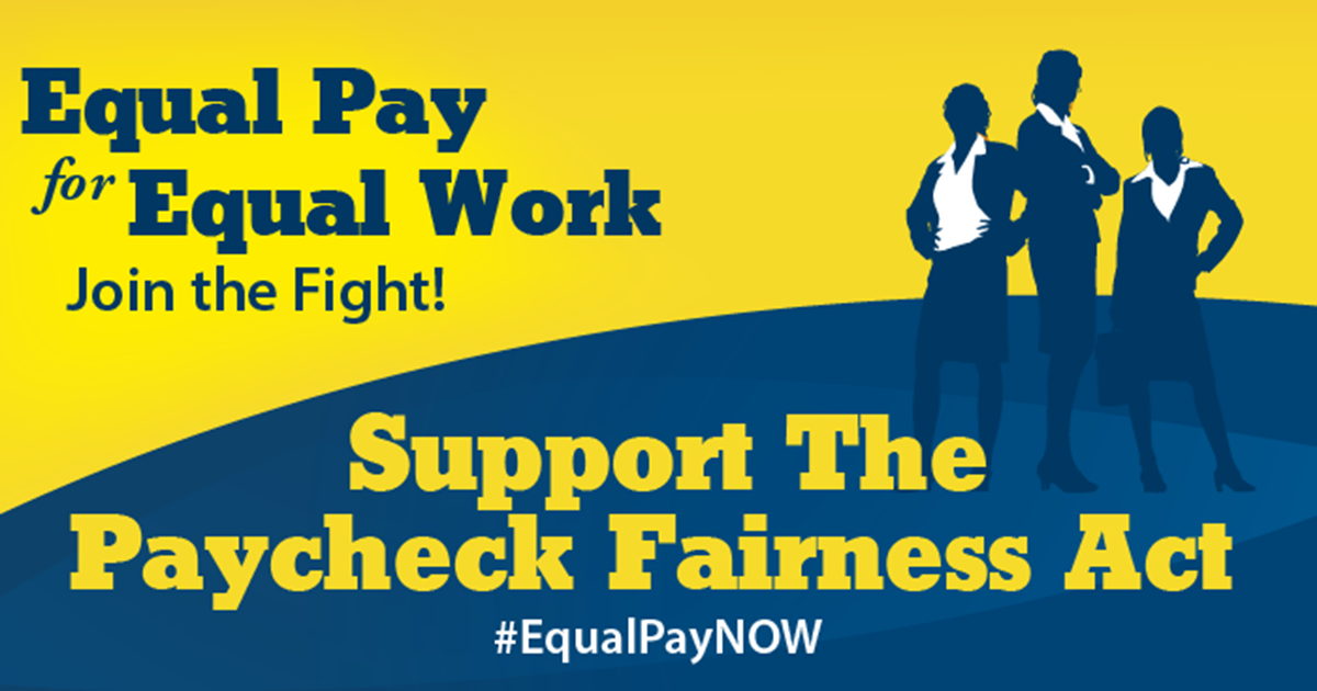 Zonta Supports Paycheck Fairness Act