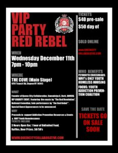 RED REBEL VIP PARTY