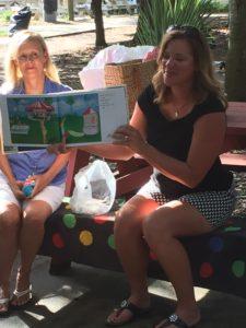 Kit Dat 2015 - Author reading Blue balloon