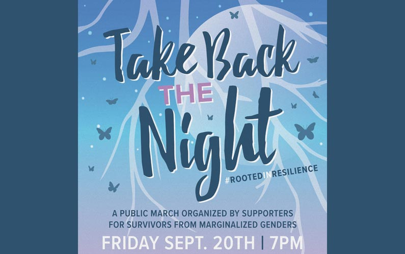Take Back The Night Friday September 20th 2019