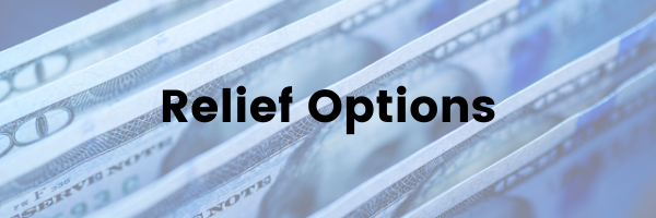 Stimulus Relief Options FAQs