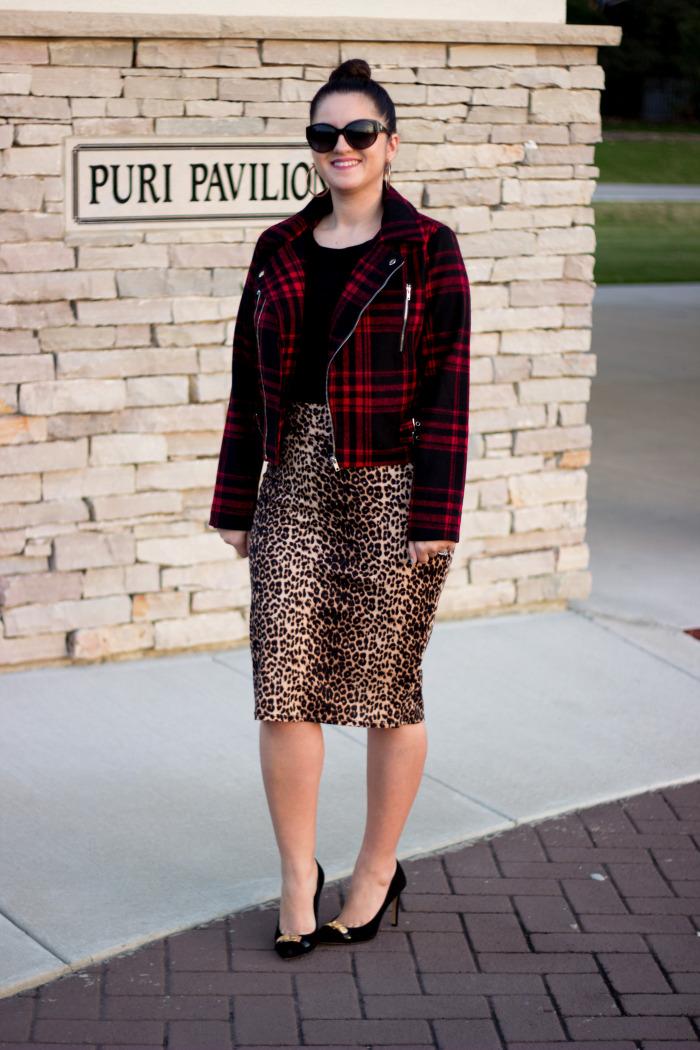 Leopard skirt1