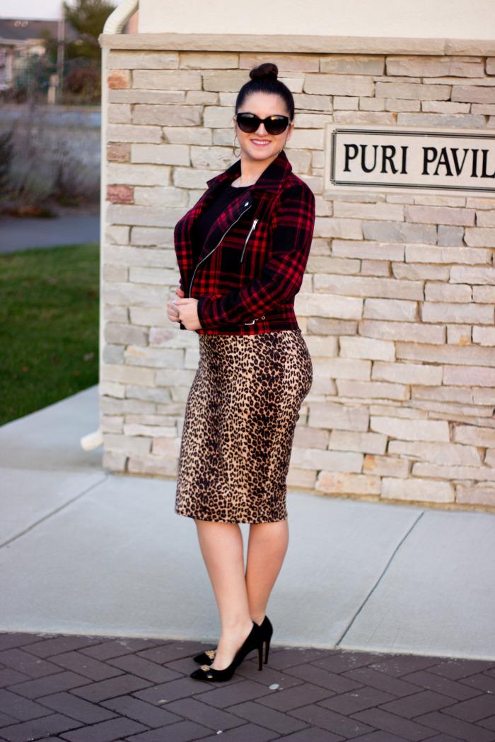 Leopard skirt2
