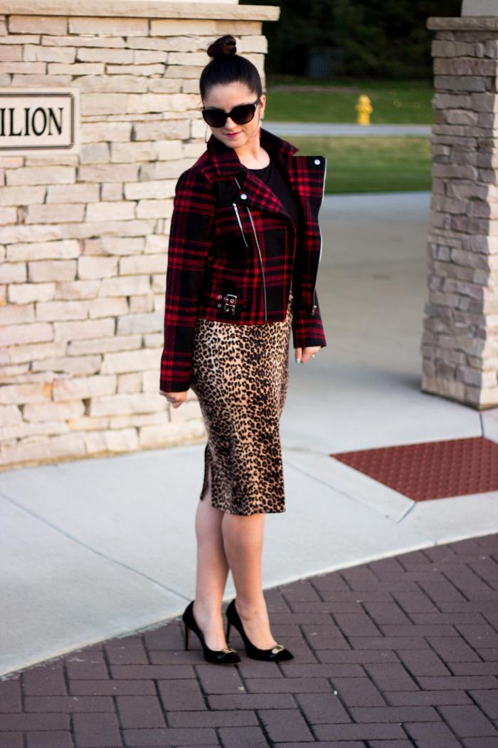 Leopard skirt4