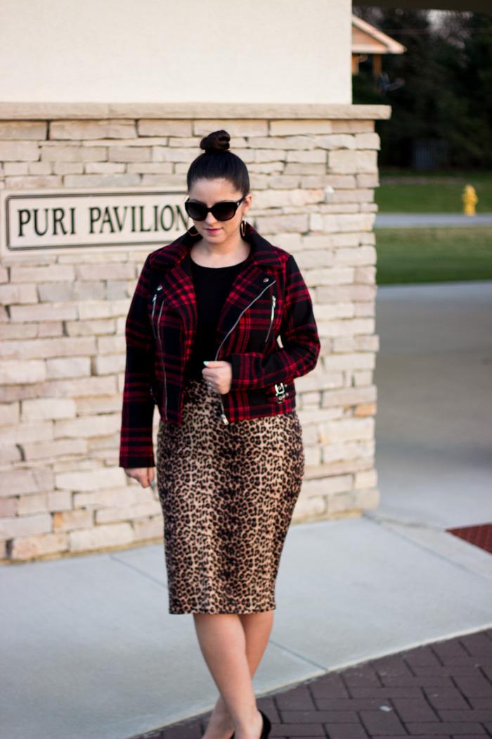 Leopard skirt5
