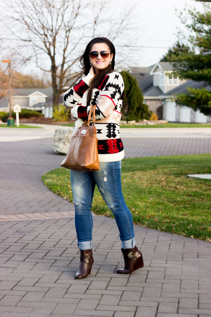 casual sweater look2