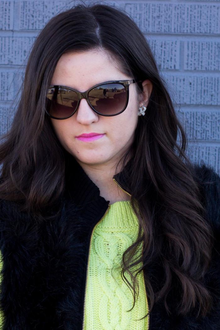 neon sweater