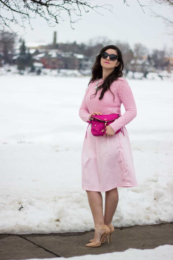 pink valentine outfit