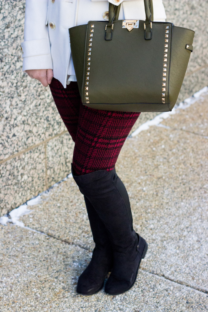 boots with leggings