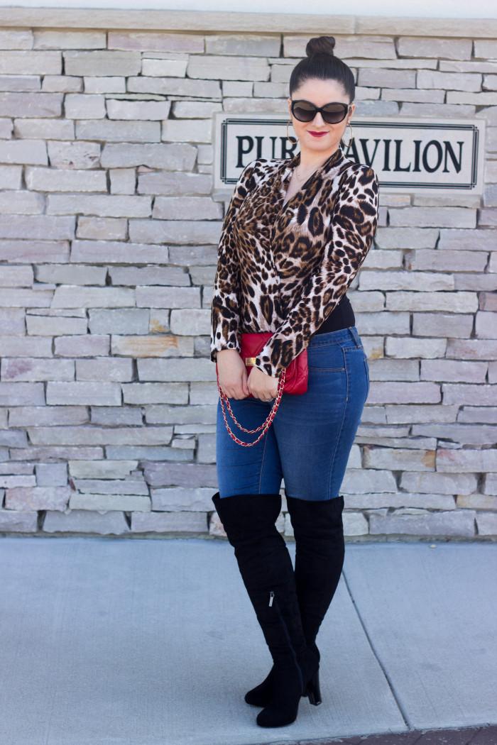 leopard top