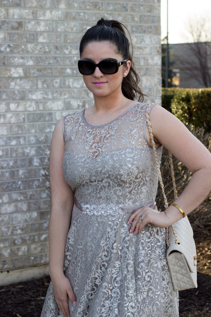 silver lace dress4