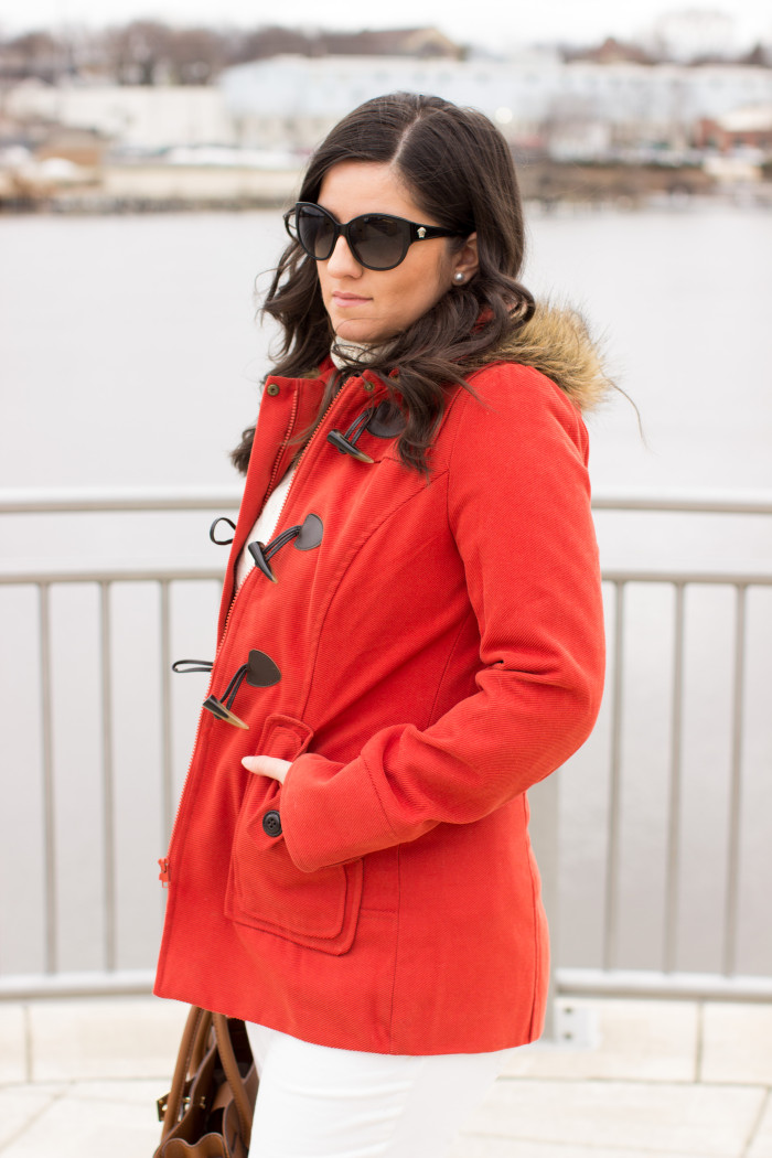 orange coat, coat for spring, light spring coat, casual look, fashion blogger, blogger style, street style, look book, outfit ideas