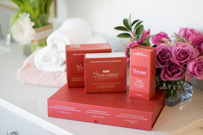 vine- vera, anti-wrinkle products, best skin products, luxury skin care line, best luxury skin products, vine skin care products
