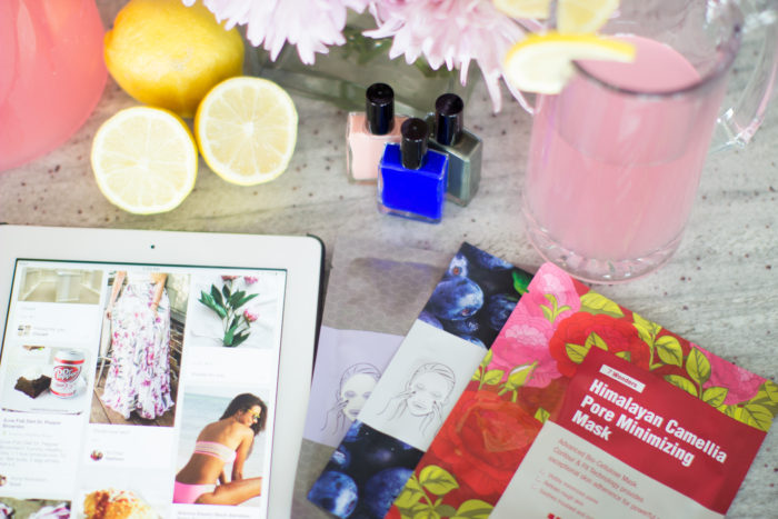 face mask, leaders cosmetics, relaxing, 20 minutes, stress, relieve stress, lemonade, pink lemonade, pinterest