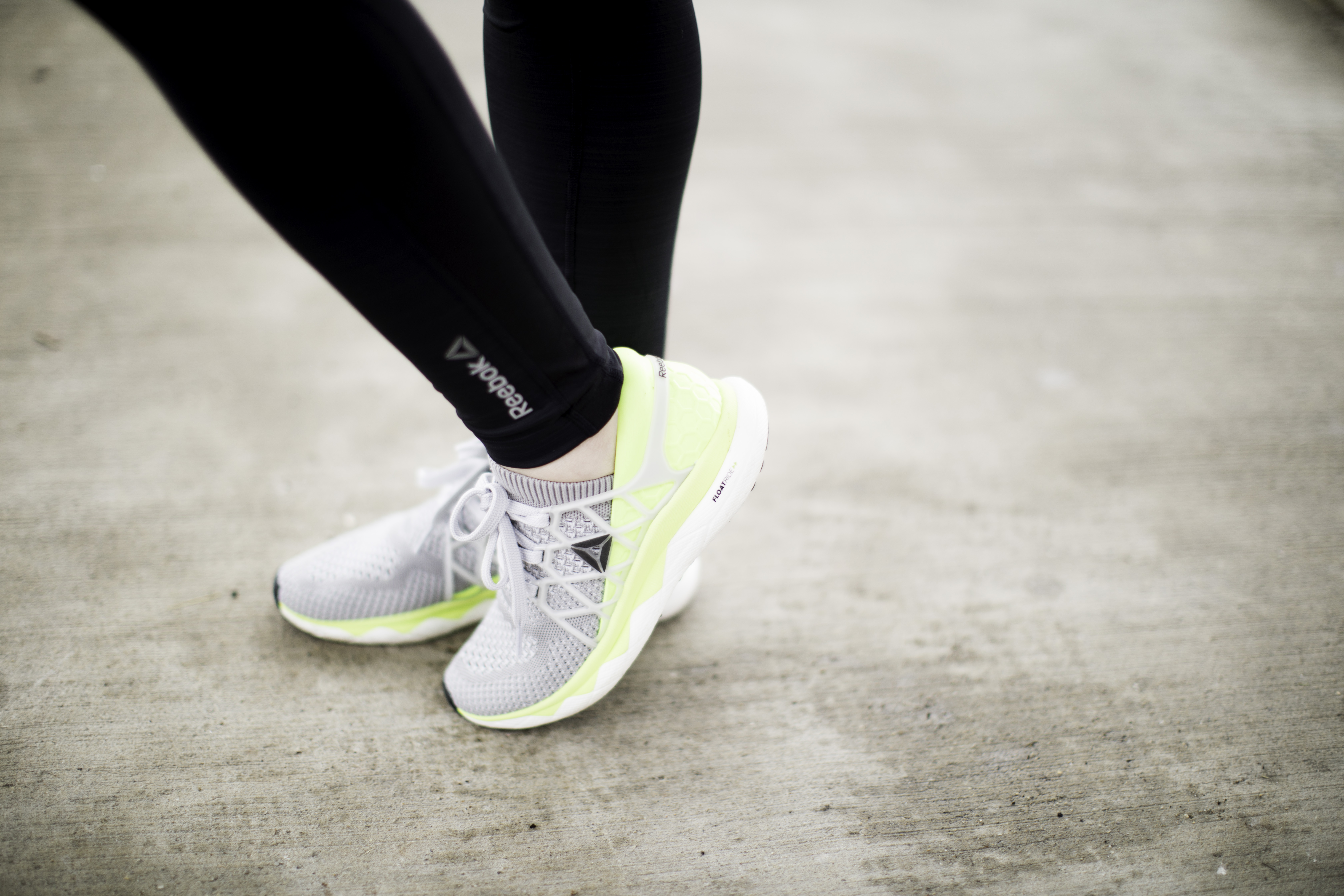 float through your run with Reebok Floatride, the ultimate running shoe, best running shoe, comfortable running shoe, reebok running shoe