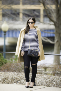 simple and stylish outfit idea for Spring