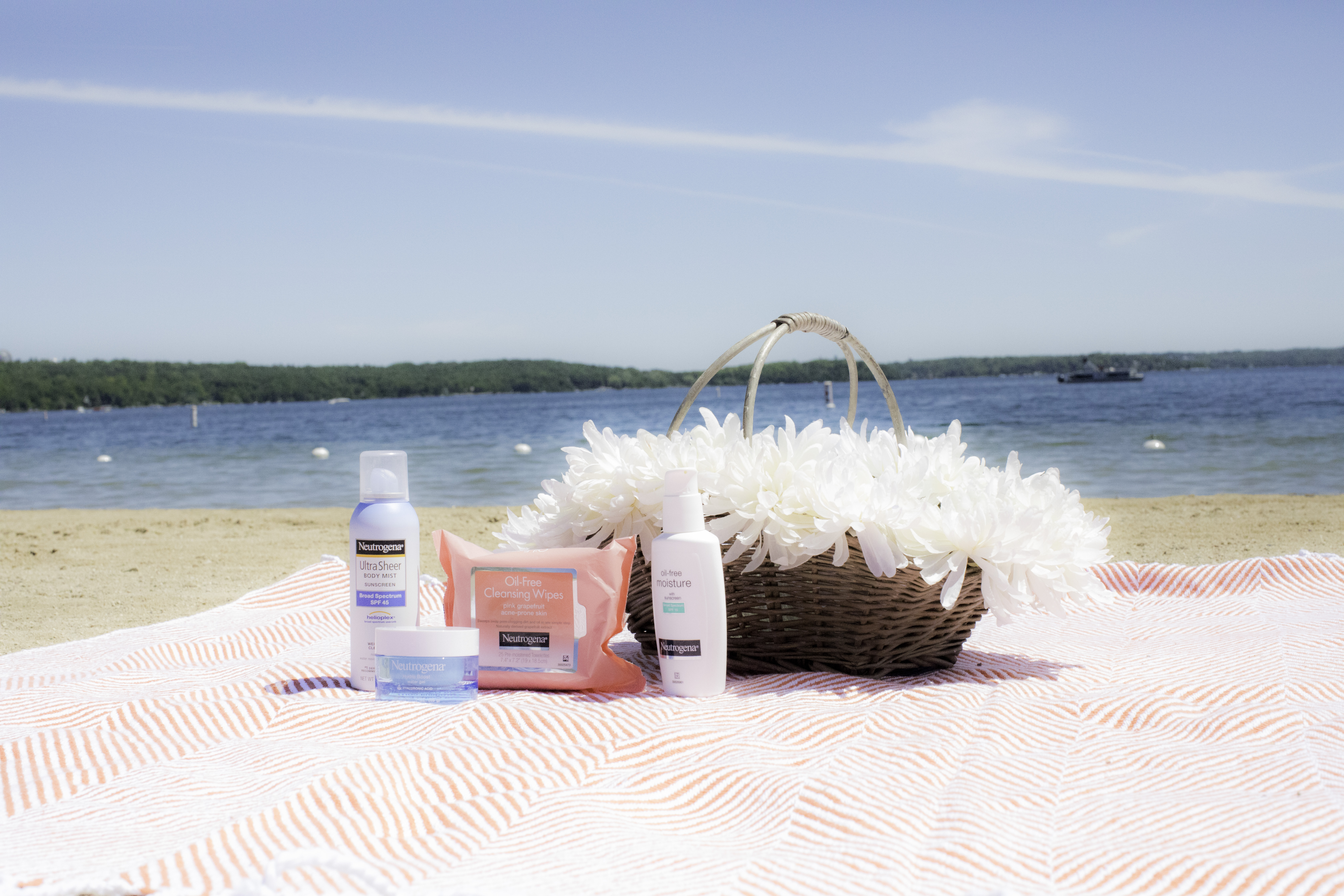 Preparing your skin for a day by the water, #FreshSummerSkin, #ad, #Target #Neutrogena