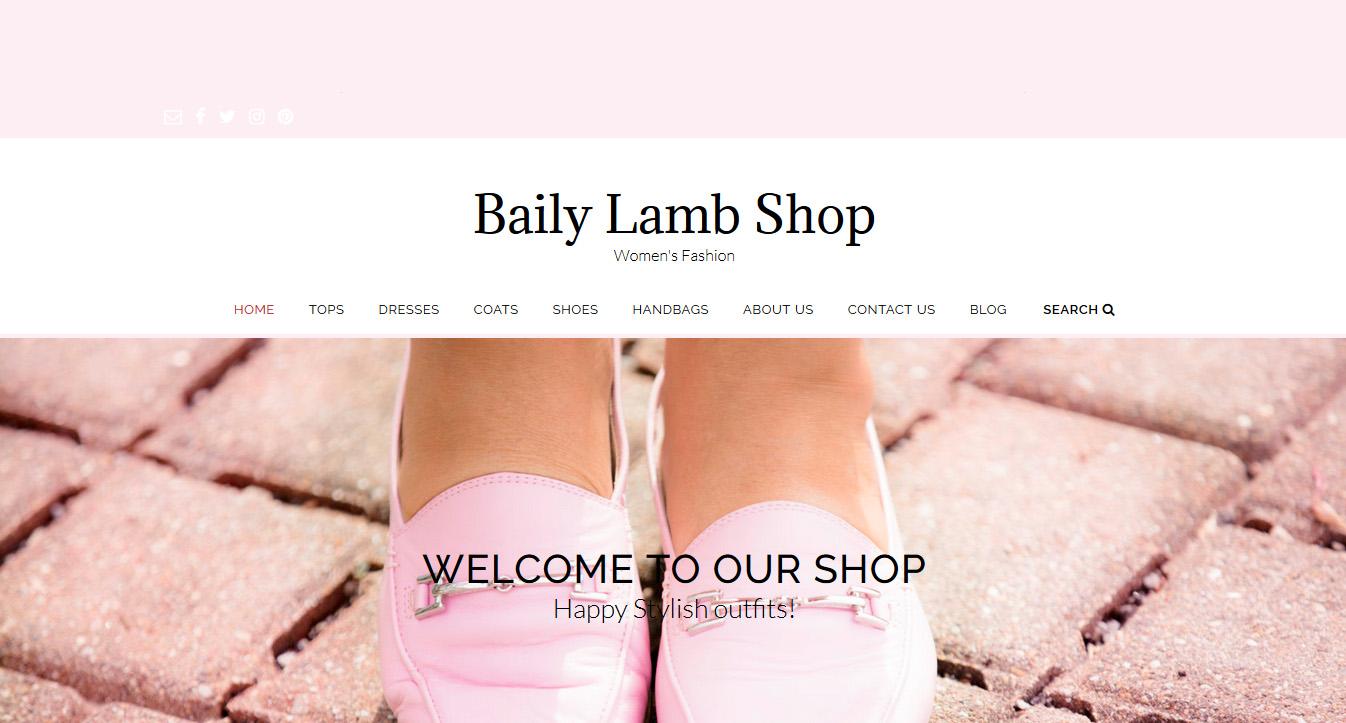 online shop, chicago womens online shop, baily lamb online shop