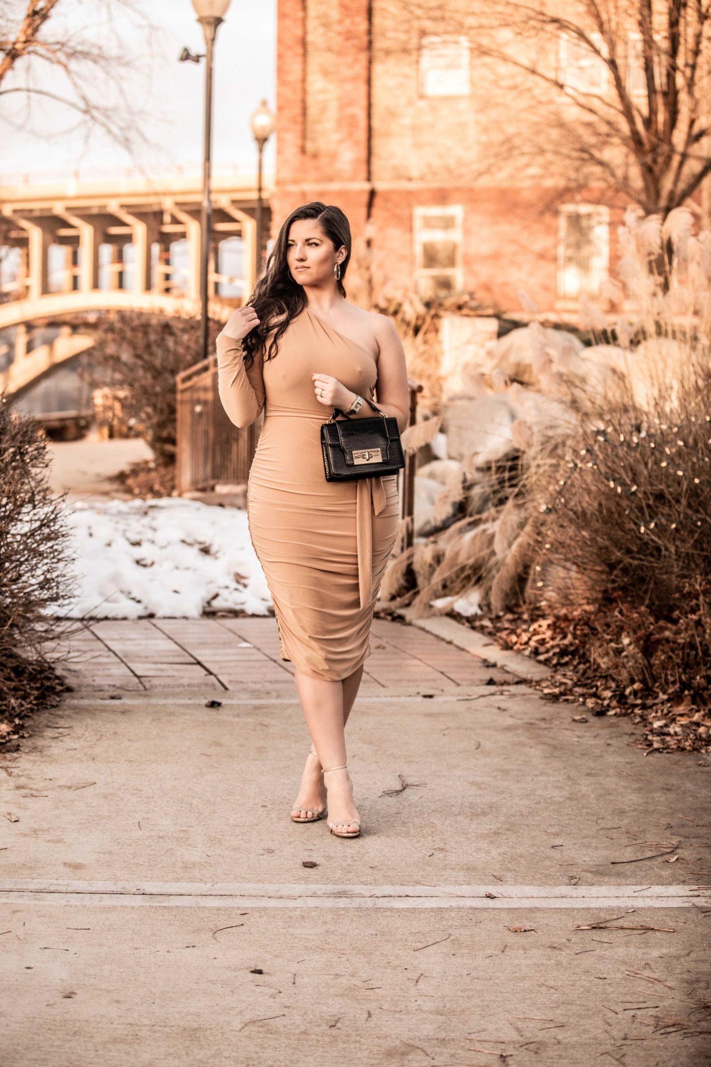 bodycon dress, sexy dress, nude dress, club dress, party dress
