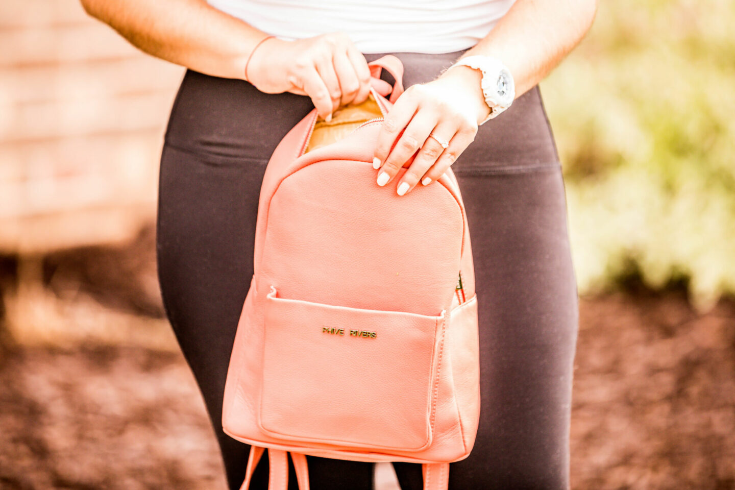 stylish backpack for women, baily lamb, chicago fashion blogger