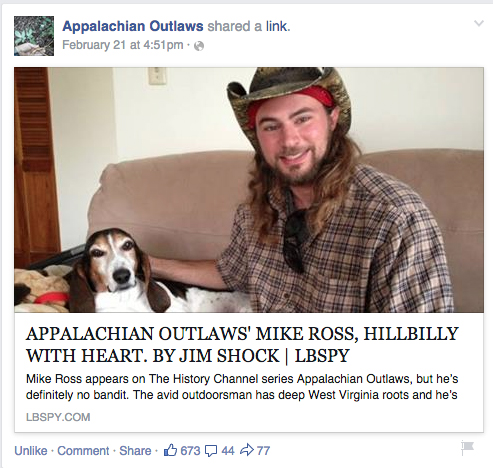 appalachian outlaws mike ross