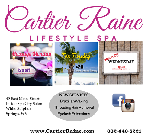 Cartier Raine October 2015